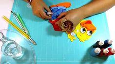 DIY Pato Pequeñin en Fomi, Goma Eva, Microporoso, Easy Crafts