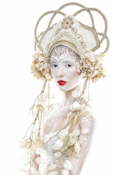 The Goddess Collection - elaborate #cosplay headdresses by Miss G Designs