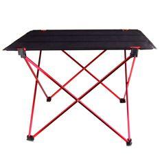 Portable Foldable Folding Table Desk Furniture Outdoor Picnic Aluminium Alloy Free Shipping