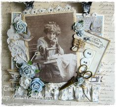 Live & Love Crafts' Inspiration and Challenge Blog: Challenge #26 Stitching - Real or Faux
