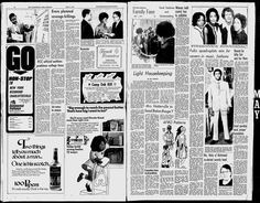 Fultz Quads at 24 in the Washington Afro American, May 4,  1971. Their picture is on the right hand page on the top right. They were living in Peekskill, NY and waiting for jobs in music and modeling while working as nurses.