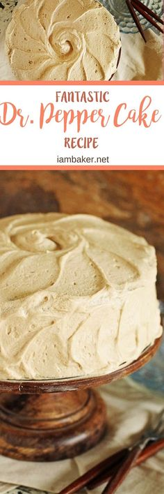 Pepper Cake- this easy cake recipe is seriously like nothing I have ever made before. The frosting is a dream to work with. It swirled so beautifully and tasted even better. For more quick and easy dessert recipes to make, check us out at Just Desserts, Delicious Desserts, Yummy Food, Cupcakes, Cupcake Cakes, Cupcake Recipes, Dessert Recipes, Pie Dessert, Cake Pops