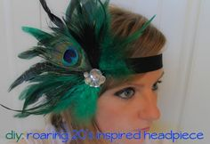 MallyKally Creations: DIY | 1920s inspired headpiece by Aisha ALM