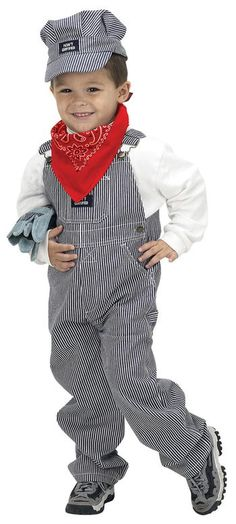 Train Engineer Toddler Costume Train Birthday Party Ideas - halloween costume ideas boys