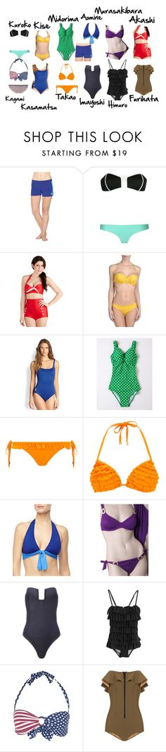 """""""Casual cosplay Kuroko no Basket: swimsuit"""" by drkittyvonscooper ❤ liked on Polyvore featuring Roxy, Chicnova Fashion, Fables, Ajraly, Ralph Lauren Blue Label, Boden, Dorothy Perkins, Tommy Bahama, Verde Veronica and Prism"""