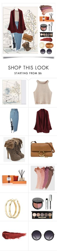 """Autumn Fashion"" by ellecnar ❤ liked on Polyvore featuring storets, JustFab, Chloé, Nest Fragrances, Gucci, Charlotte Russe, Bobbi Brown Cosmetics, By Terry, Alice + Olivia and Improvements"