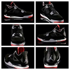 Air Jordan IV Black/Red 2012   ... There's a lot of reasons to love the AirJordan IV ...
