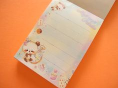 Kawaii Cute Mini Memo Pad Crux *Moji moji Panda (44214) - Kawaii Shop Japan