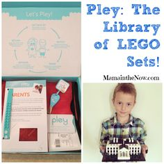 """Pley: The Library of LEGO Sets! This is perfect for kids who love to build LEGO sets and parents who don't want to buy them! This concept is truly genius, one of the moments when you say """"why didn't I think of that!"""" Try a free LEGO set from Pley, be the cool mom on the """"block""""!"""