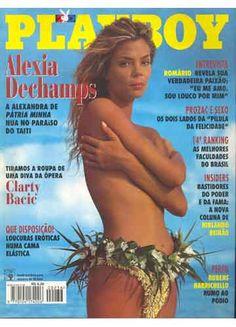 Playboy - 1995 - Nº 236 - Alexia Dechamps -