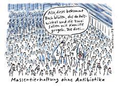 Massentierhaltung ohne Antibiotika | Humor für Leute mit Humor - SPIEGEL ONLINE