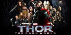 Dando uma nova visão sobre os três guerreiros, Sif, Heimdall, Odin, Loki e Malekith. O incrível poster de Thor: O Mundo Sombrio acaba de ser liberado.