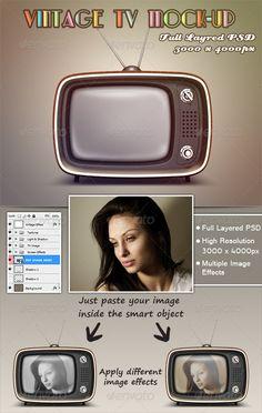 Vintage TV Mock-Up Download here: https://graphicriver.net/item/vintage-tv-mockup/3076586?ref=KlitVogli