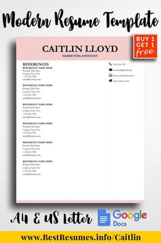 Best Words For Resume Minimalist Cv Resume Word  Simple Resume Templates  Pinterest .