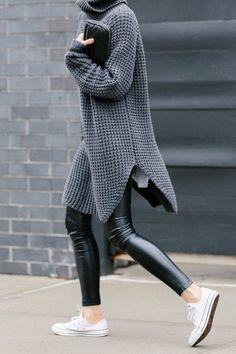 <必見!>大人気のレザーアイテムはマストハブ。パンツとスカートのコーデ術 - Spotlight (スポットライト)