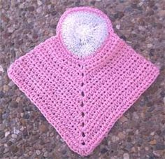 Marlo's Crochet Corner Dish cloth with a scrubby
