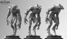 Klicek from zbrush central Witcher 3 models Zbrush Character, Character Modeling, 3d Character, Character Sheet, Creature Concept Art, Creature Design, Witcher Monsters, Werewolf Art, Cool Monsters