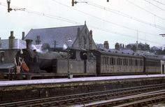 The old Push & Pull that serviced Glossop to Dinting early - one took this train to join the Manchester train passing through Dinting. Rail Transport, British Rail, The Big Four, Great Britain, 1950s, Old Things, Join, Dreams