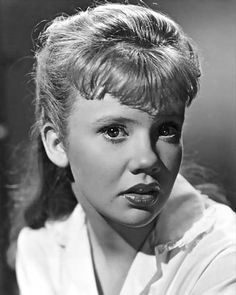 Hayley Mills-Twins in Parent Trap, Pollyanna, and Mary Clancy in The Trouble with Angels
