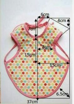 Sewing Tutorials, Sewing Projects, Clothing Patterns, Sewing Patterns, Jean Apron, Baby Applique, Baby Bibs Patterns, Bib Pattern, Baby Couture