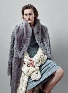 Karolina Waz by Emre Dogru for Vogue Turkey February 2015