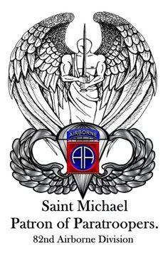 St Michael Patron Saint Of Paratroopers