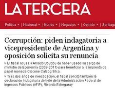Boudou La TerceraLa situación de Boudou, según los diarios extranjeros CONTALO Compartilo10 Twittealo4 Una vez más la prensa extranjera pone la lupa sobre la Argentina por sus problemas. Ayer por la devaluación; hoy por el vicepresidente.