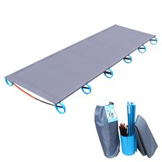 Cheap camping mat, Buy Quality camping bed directly from China folding camping bed Suppliers: HOT! Camping Mat Ultralight Sturdy Comfortable Portable Single Folding Camp Bed Cot Sleeping Outdoor With Aluminium Frame