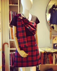 A fantastic mini kilt - buy now and get a matching tartan sash absolutely free!...