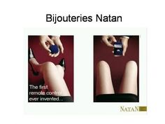 Bijouteries Natan: The first remote control