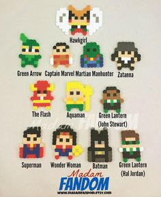 JUSTICE LEAGUE Party Favors Set of 12 Superhero by MadamFANDOM