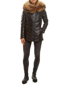 Leading online upscale fashion boutique in London for women's outerwear. Selecting designers such as Canada Goose, Mackage, Rino & Pelle and Ventcouvert, Fur & Leather coats and much more. Outerwear Women, Fashion Boutique, Winter Jackets, Leather Jacket, Coat, Clothing, Outfits For Women, Winter Coats, Studded Leather Jacket