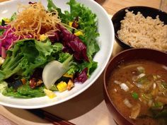 野菜サラダ定食
