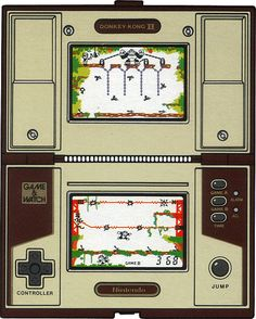 Donkey Kong II (1983) Game & Watch : Multi-screen Series - nintendo