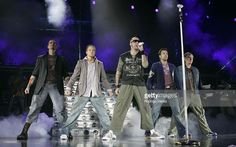 Backstreet Boys during Backstreet Boys in Concert - July 22, 2005 at Sound Advice Amphitheater in West Palm Beach, Florida, United States.