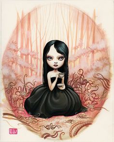 Tentacle Tea Time by Mab Graves by mab graves, via Flickr
