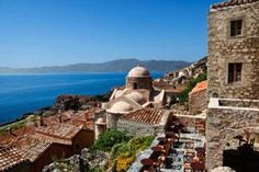 Greece is not just for summer vacations. Rugged coastlines, old mansions and snowy mountains make Greece an ideal winter getaway, too. Greece Destinations, Places In Greece, Holiday Destinations, Monemvasia Greece, Greece Wedding, Greece Travel, Greece Trip, Visit Greece, Archaeological Site