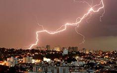 Brasil é campeão mundial em queda de raios