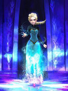 My fanart about Elsa in the style of the official art of 'A Sister More Like Me'. Elsa (c) Disney The Snow Queen Princesa Disney Frozen, Frozen Disney, Elsa Frozen, Disney Magic, Frozen Queen, Disney Animation, Disney And Dreamworks, Disney Pixar, Frozen Fan Art