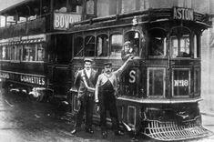 Birmingham's first Steam Tram in 1882.