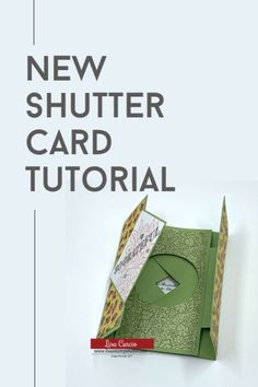 This NEW shutter card tutorial takes card making to a whole new level. Join me in this video tutorial where you can stop and pause to create along with me! Visit www.lisasstampstudio.com #shuttercard #shuttercardtemplate #funfoldcards #interactivecardideas #cardmakingvideo #greetingcardshandmade #lisacurcio #lisasstampstudio #stampinup #stampinupcards #ornatestylestampinup #undermyumbrellastampinup Handmade Cards For Friends, Greeting Cards Handmade, Handmade Birthday Cards, Fun Fold Cards, Folded Cards, 3d Cards, Cards Diy, Card Making Tutorials, Card Making Techniques