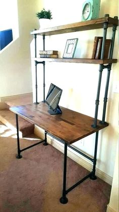 industrial pipe furniture industrial pipe furniture s end table industrial pipe console table diy