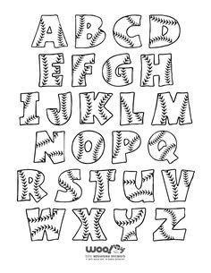 Ideen für Handlettering Buchstaben #Handlettering Alphabet