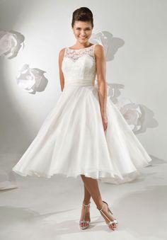 vestidos de noivas simples curtos