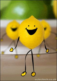 The perfect Lemon Dance Cartoon Animated GIF for your conversation. Discover and Share the best GIFs on Tenor. Funny Emoticons, Funny Emoji, Funny Gifs, Animiertes Gif, Animated Gif, Lemon Images, Viernes Gif, Gif Lindos, Mood Gif