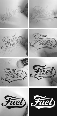 Fuel Motorcycles Logo Creation by BMD Design