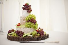 Lovely Cheese Wedding Cake