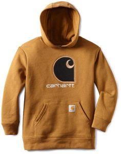 Carhartt Boys 2-7 Big C Fleece Hooded Sweatshirt « Clothing Impulse