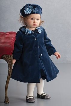 Beautiful Blue Biscotti jacket and matching hat!  Contact me for size and price!