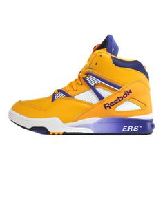 "Reebok Pump Omni Zone Retro ""Lakers"" (Reebok Gold/Violet/White) 